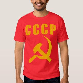 cccp URSS del martillo y de la hoz Remera