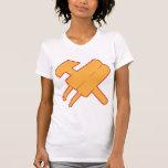 cccp URSS del popsicle del martillo y del popsickl Camisetas