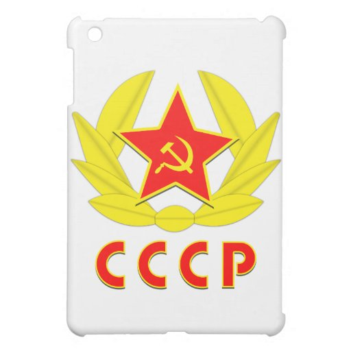 cccp ussr hammer and sickle emblem cover for the iPad mini