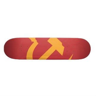 cccp ussr hammer and sickle skateboard