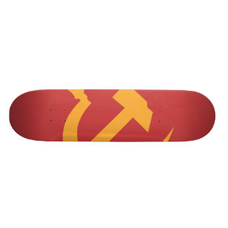 cccp ussr hammer and sickle skateboard decks