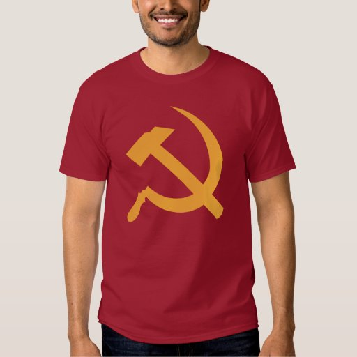 cccp ussr hammer and sickle tees