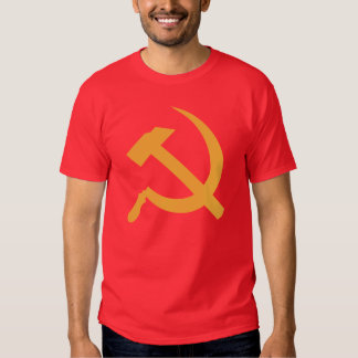 cccp ussr hammer and sickle tshirt
