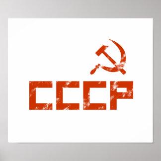 CCCP Vintage Poster