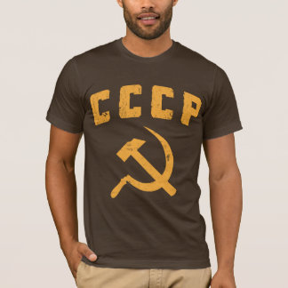 cccp vintage russian ussr hammer and sickle T-Shirt