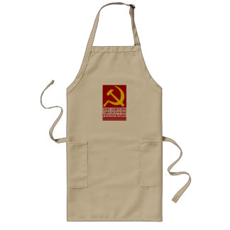 CCCP with Hammer and Sickle Aprons