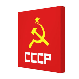 CCCP Wrapped Canvas Gallery Wrap Canvas