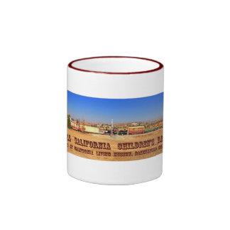 CCCRR Rolling Stock Panarama Ringer Coffee Mug