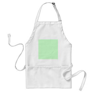Professional Business #CCFFCC Hex Code Web Color Light Mint Green Adult Apron