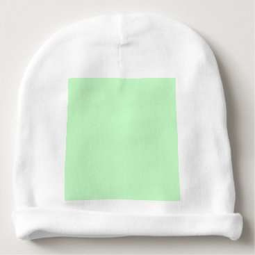 Professional Business #CCFFCC Hex Code Web Color Light Mint Green Baby Beanie