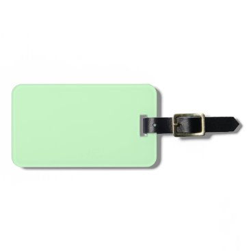 Professional Business #CCFFCC Hex Code Web Color Light Mint Green Bag Tag