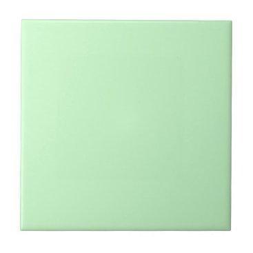 Professional Business #CCFFCC Hex Code Web Color Light Mint Green Ceramic Tile