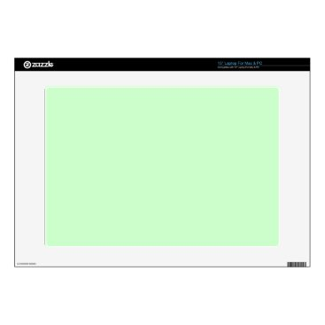 Professional Business #CCFFCC Hex Code Web Color Light Mint Green Decal For Laptop
