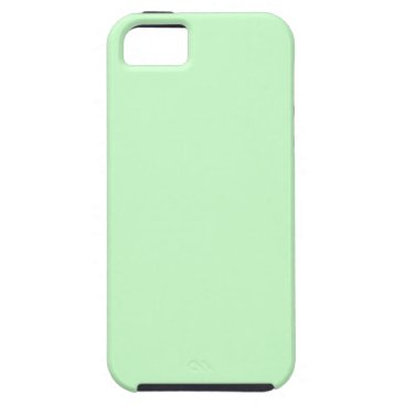 Professional Business #CCFFCC Hex Code Web Color Light Mint Green iPhone SE/5/5s Case