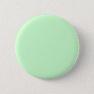 #CCFFCC Hex Code Web Color Light Mint Green Pinback Button