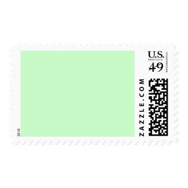 Professional Business #CCFFCC Hex Code Web Color Light Mint Green Postage
