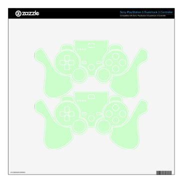 Professional Business #CCFFCC Hex Code Web Color Light Mint Green PS3 Controller Decal