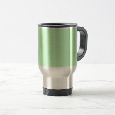 Professional Business #CCFFCC Hex Code Web Color Light Mint Green Travel Mug
