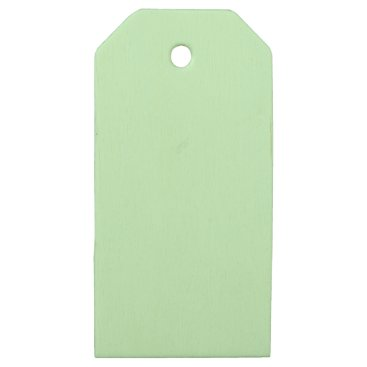 Professional Business #CCFFCC Hex Code Web Color Light Mint Green Wooden Gift Tags