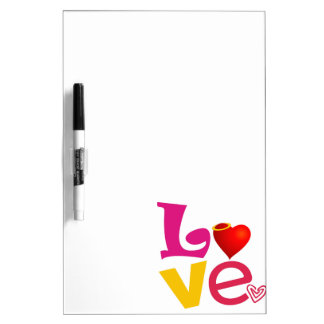 CCL COLORFUL CARTOON LOVE EXPRESSIONS FEELINGS LOG DRY ERASE BOARD