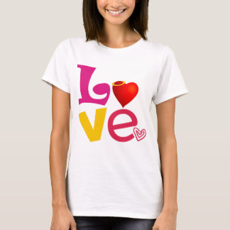 CCL COLORFUL CARTOON LOVE EXPRESSIONS FEELINGS LOG T-Shirt