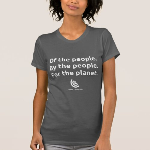 CCL For the Planet Gray T_Shirt