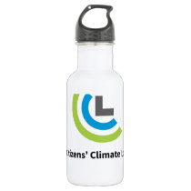CCL Logo Water Bottle (18 oz.), stainless steel