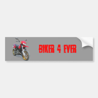 CCM R30 Motorcycle in Red Bumper Sticker