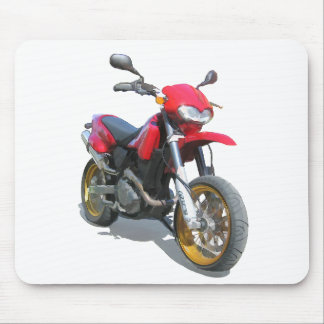 CCM R30 Motorcycle in Red Mouse Pad