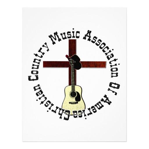 CCMAOA acústico Membretes Personalizados