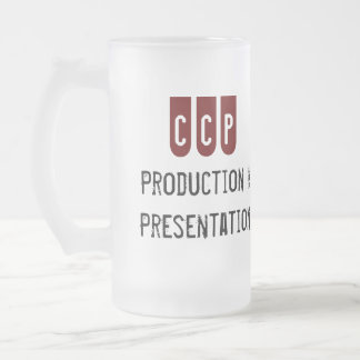 ccp frosted mug