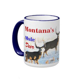 CCP - Ningunos 410, MJ, ciervo mula EN el alto paí Taza A Dos Colores