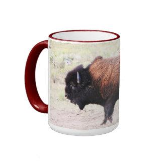 CCP - No 408,MH - Dancing Buffalo, Wonderland Ringer Mug