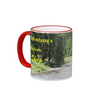 CCP - No 419,MS , Bighorn Sheep Ram #5 Montana Ringer Mug