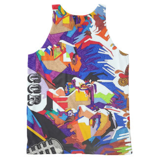 CCR T Shirt All-Over Print Tank Top