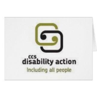 CCS Disability Action Cards