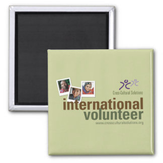 CCS International Volunteer Magnet