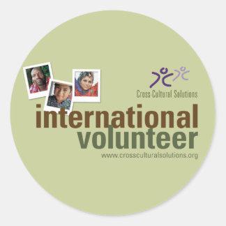CCS International Volunteer Sticker