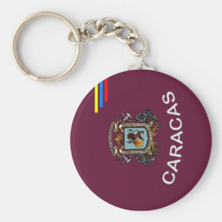 CCS Shield Basic Round Button Keychain