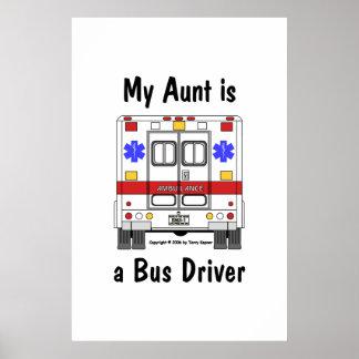 Ccsme-Ambulancia, conductor de la tía el autobús, Póster