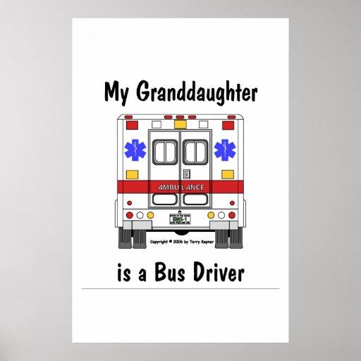Ccsme-Ambulancia, conductor del autobús de la niet Póster
