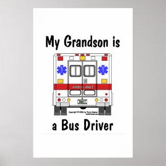 Ccsme-Ambulancia, conductor del autobús del nieto, Póster
