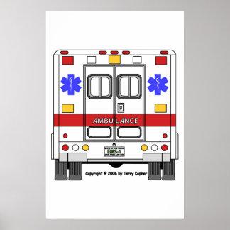 Ccsme-Ambulancia Póster