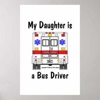 Ccsme-Ambulancia, poster de la hija del conductor