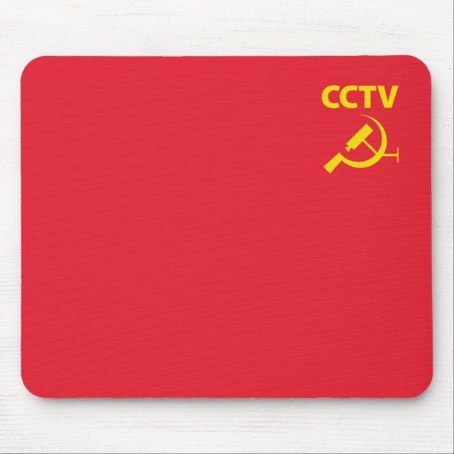 CCTV Flag Mouse Mats