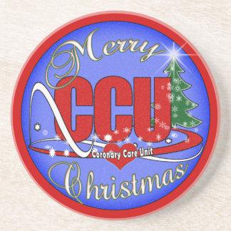 CCU CHRISTMAS COASTERS Coronary Care Unit
