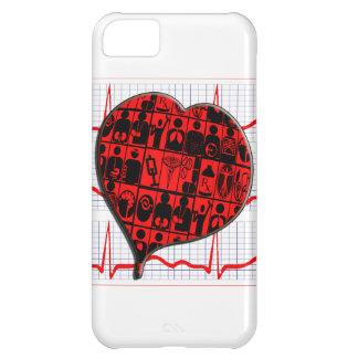 CCU HEART EKG MEDICAL SPECIALTIES CASE FOR iPhone 5C