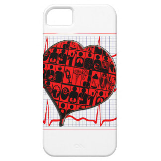 CCU HEART EKG MEDICAL SPECIALTIES iPhone SE/5/5s CASE