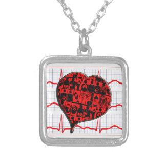 CCU HEART EKG MEDICAL SPECIALTIES PENDANT