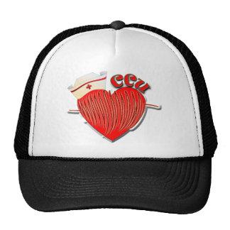 CCU NURSE CARDIAC CARE UNIT MESH HAT